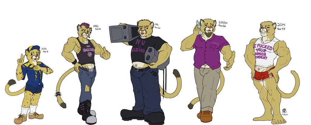 Most recent image: Age Progression: Puma Daddy
