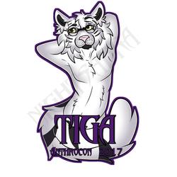 [G]Tiga Anthrocon Badge