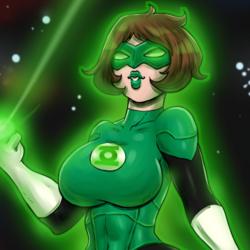 Green Lantern Dragon!