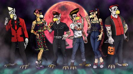 Avania Crew - Rockabilly Halloween