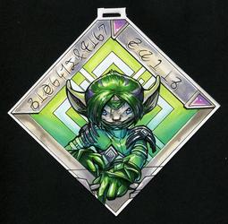 :Commission: Biosynergist Qalib badge