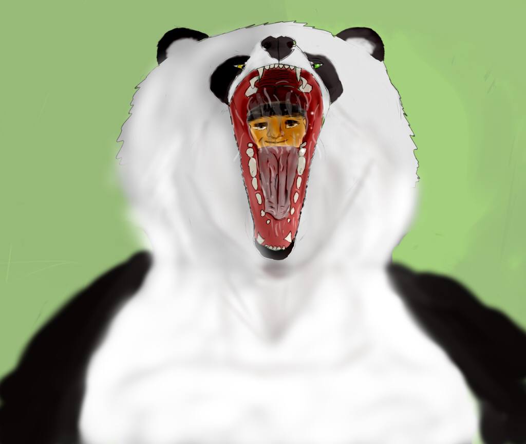 Last Gulp Of The Panda