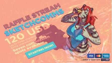 Sketchcomm stream starts now