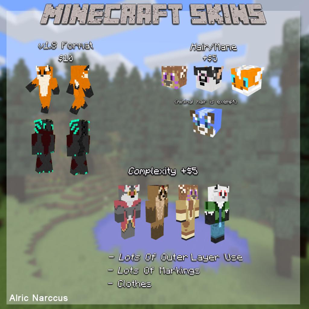 Minecraft Skin Commissions