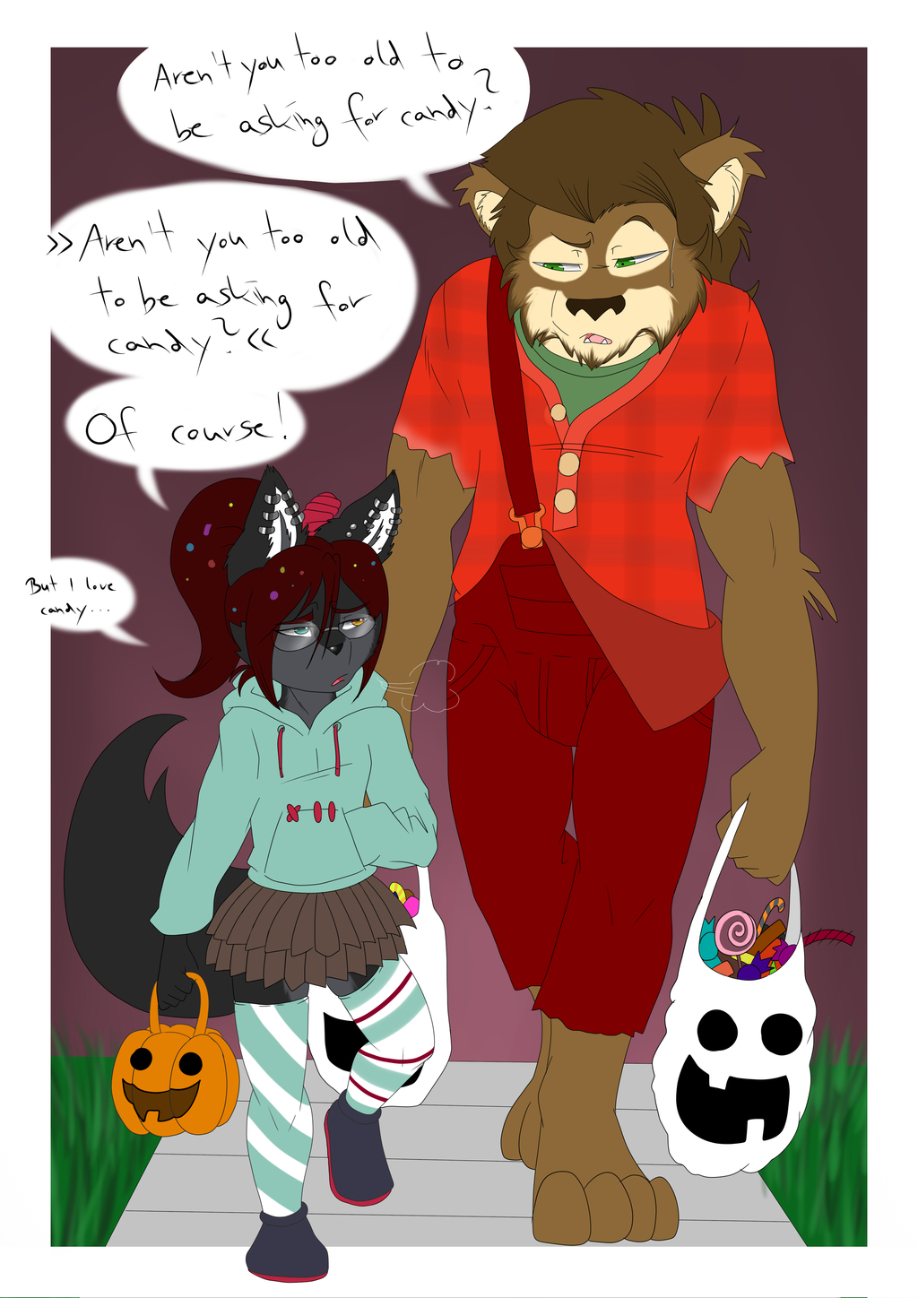 Most recent image: Sherly's Halloween Candy Hunt