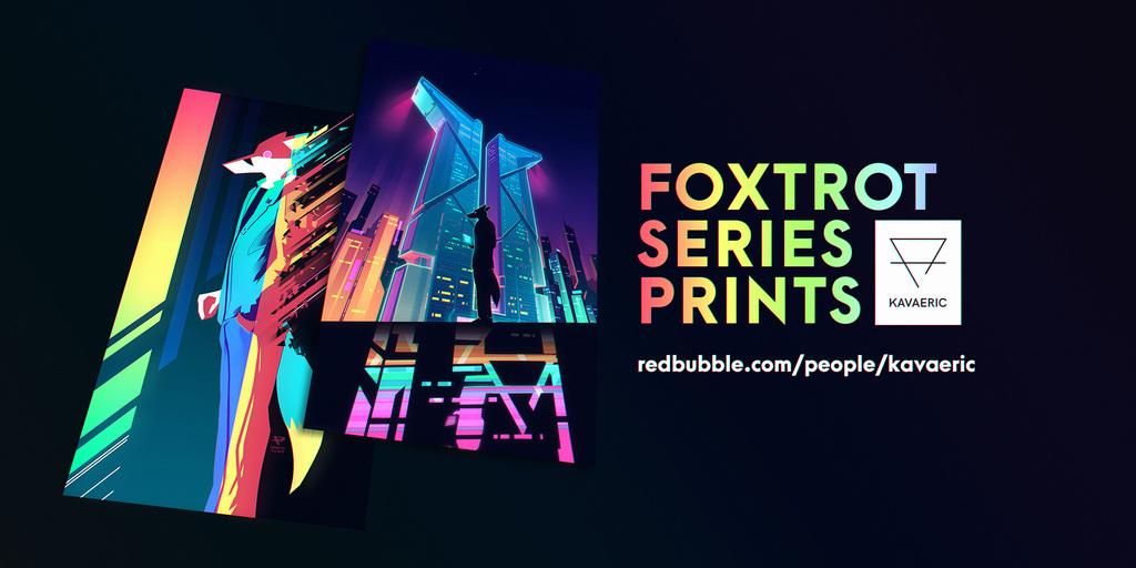 [MERCH] Foxtrot series prints!