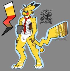 Male Pikachu Teacher +Design+ (SOLD)