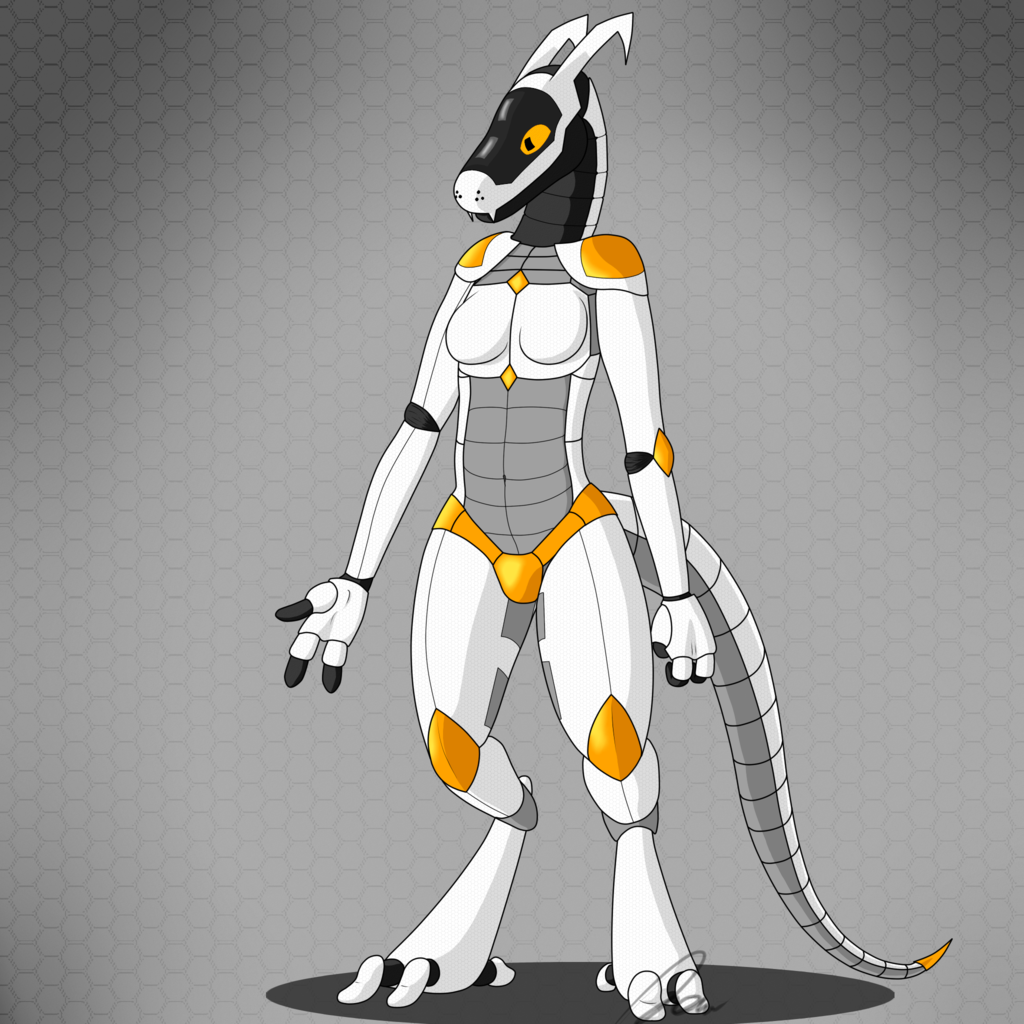 Most recent image: Synth design (New Character?)