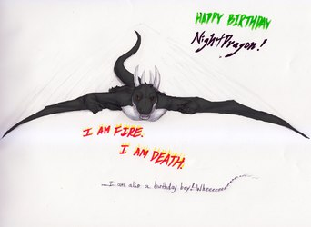 Hatchday Flight Doodle by Tsukiokami
