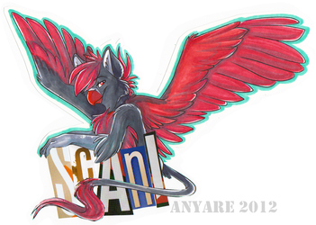 FE 2012 Badge (by Anyare)