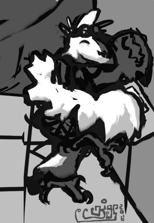 Doodle of Kigs doodling