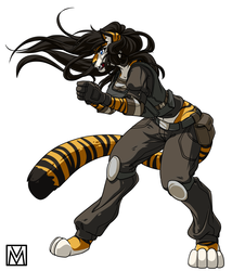 Fiona Cell - Irish Tigress - Comm - Wolfpack67