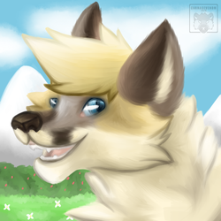 Painted Icon for Rufus