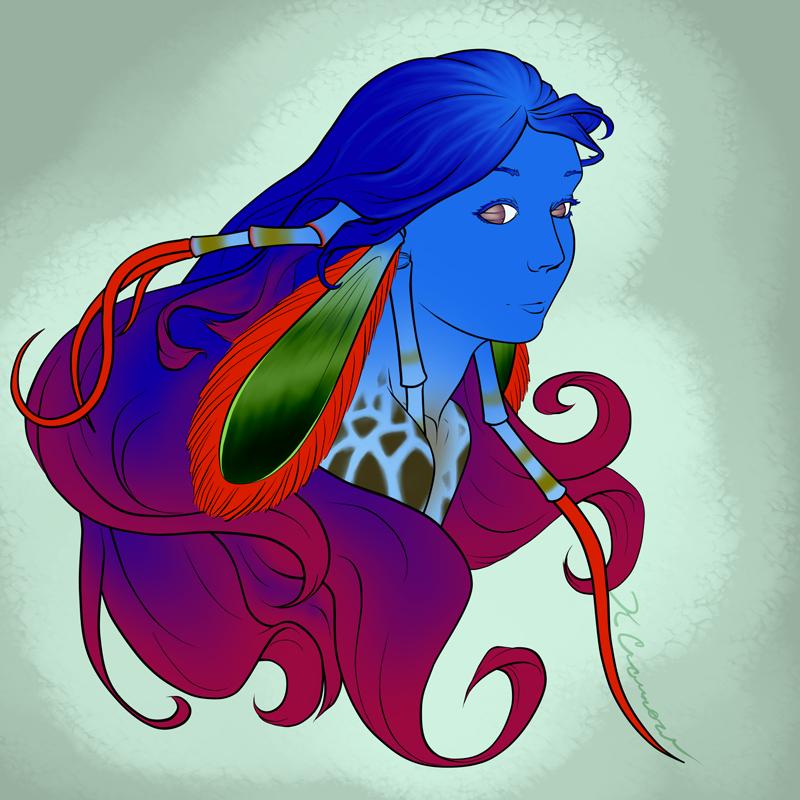Shrimp Woman
