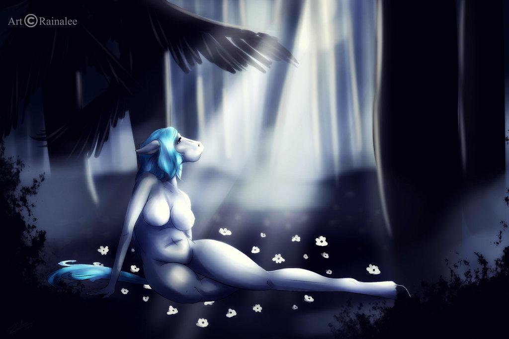 Bathing in Moonlight