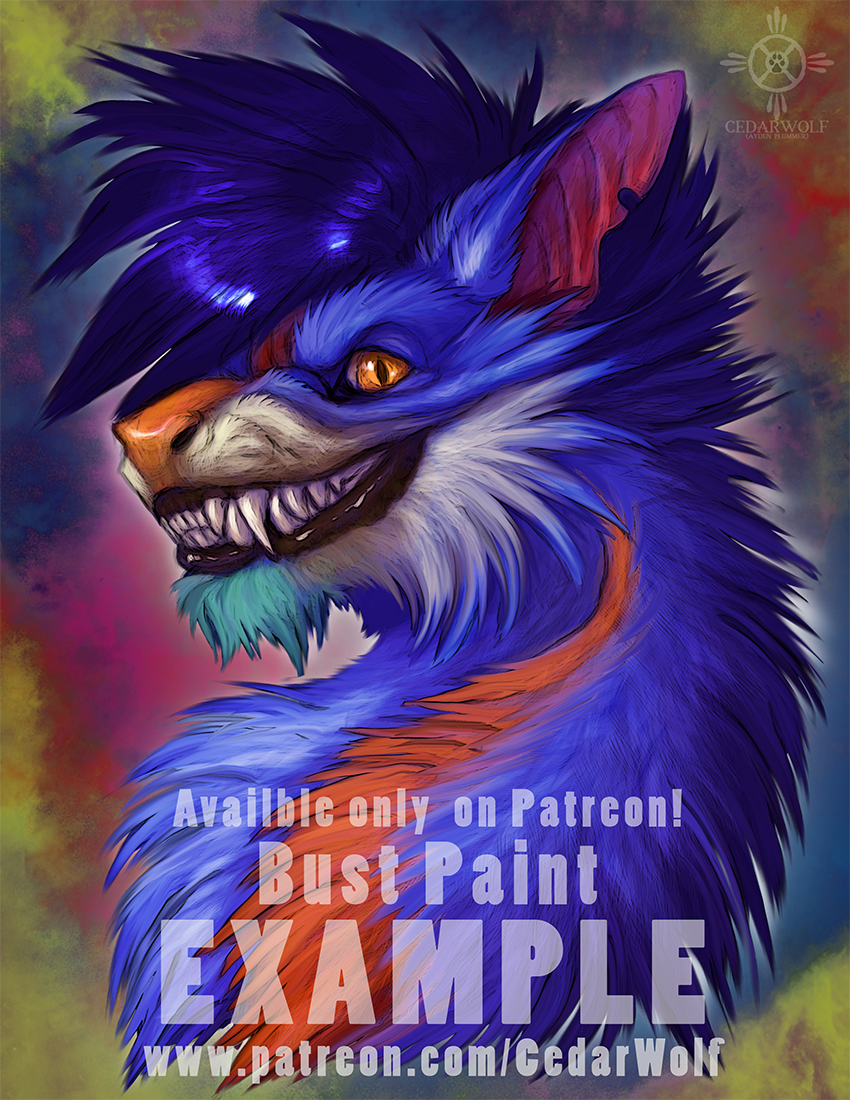 Most recent image: Patreon Bust Paint Example