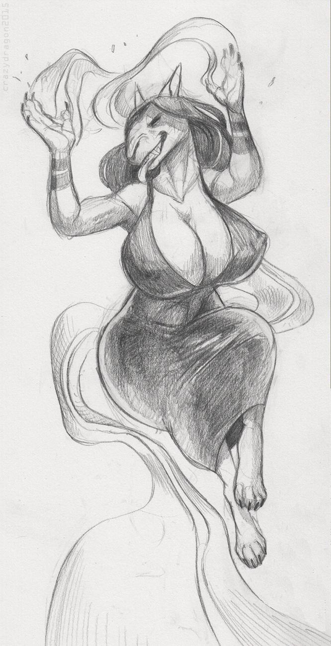 Grace Sketch [by:CrazyDragon]