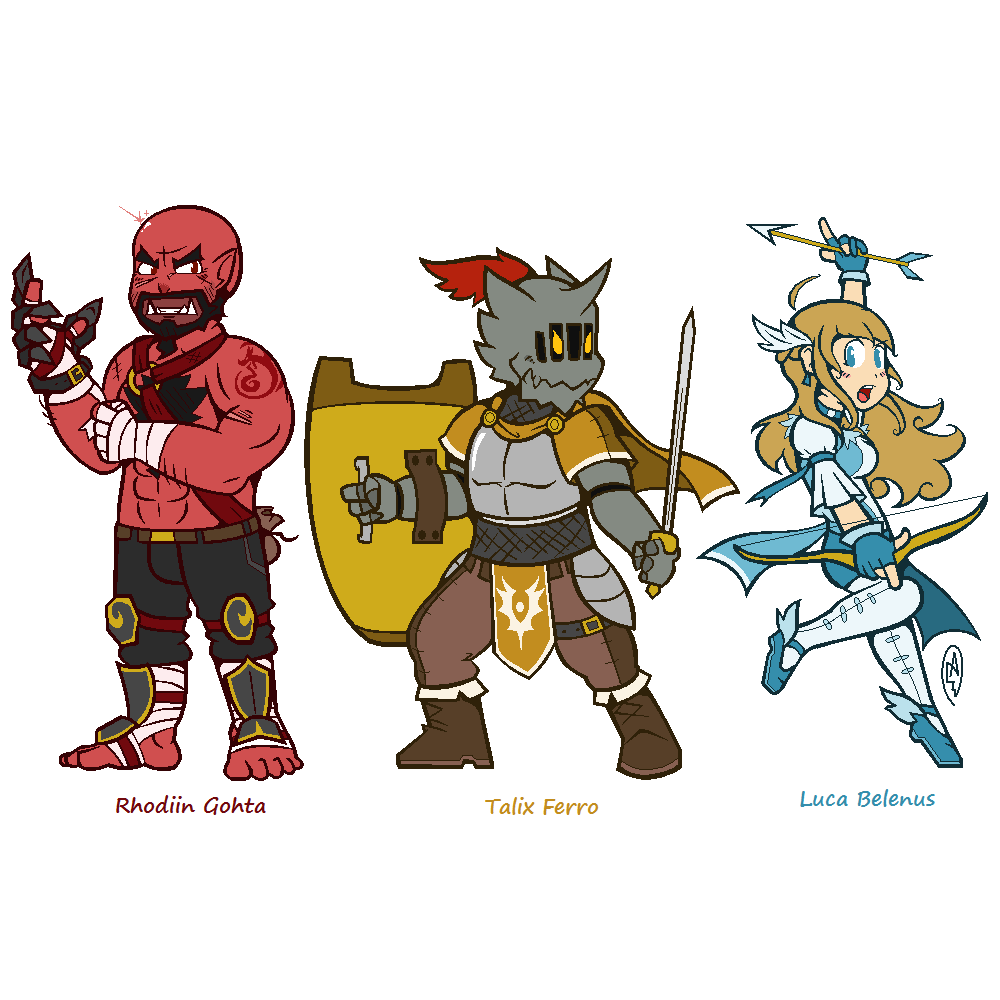 Talix and Crew (Adults)
