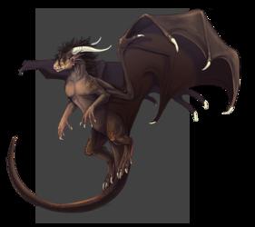 Commission - Dragon Human Hybrid