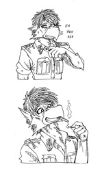 Reaction Sketches 1 - Hans