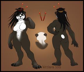 Pandaren Woman - Ref