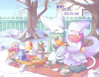 Backyard Winter Picnic