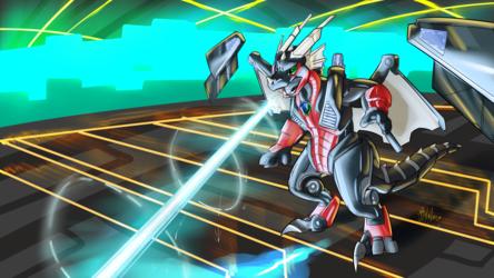 Commission - NightDragon0 - Digital Defender