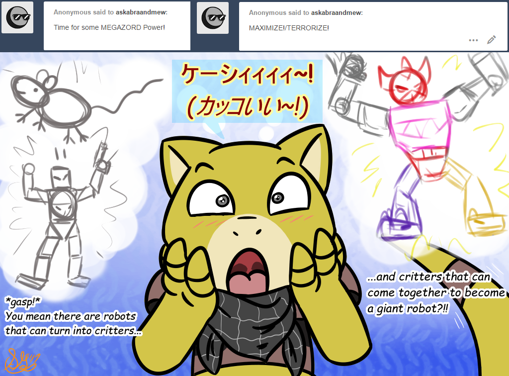 Ask Abra and Mew question #168
