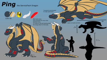 Commission - Ping - Dragon reference