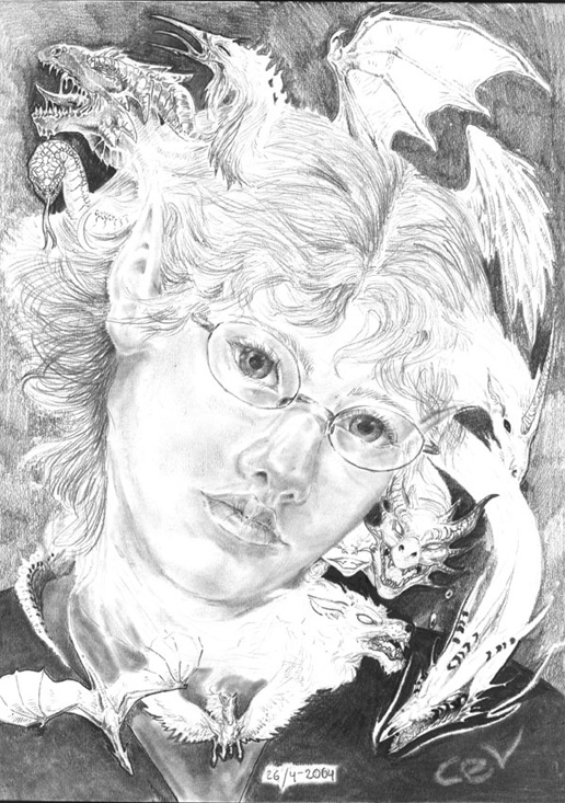 portrait for high school art book