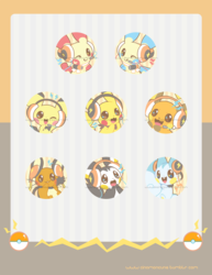Electric Rodent Team Buttons