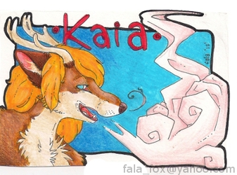 Badge by Fala