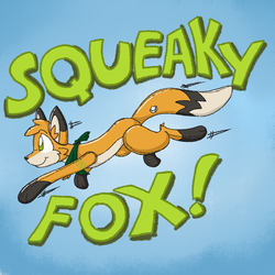 Squeaky fox!!!