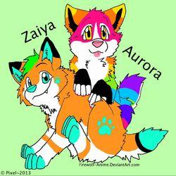 Zaiya and Aurora!