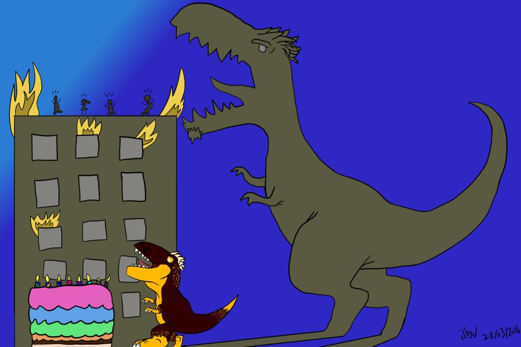 Dino Birthday Wishes