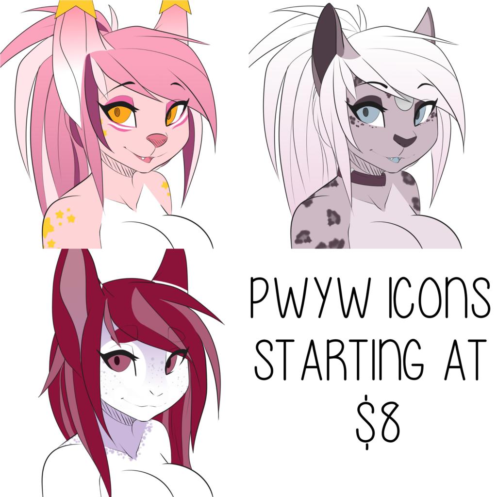 [OPEN] PWYW YCH Icons