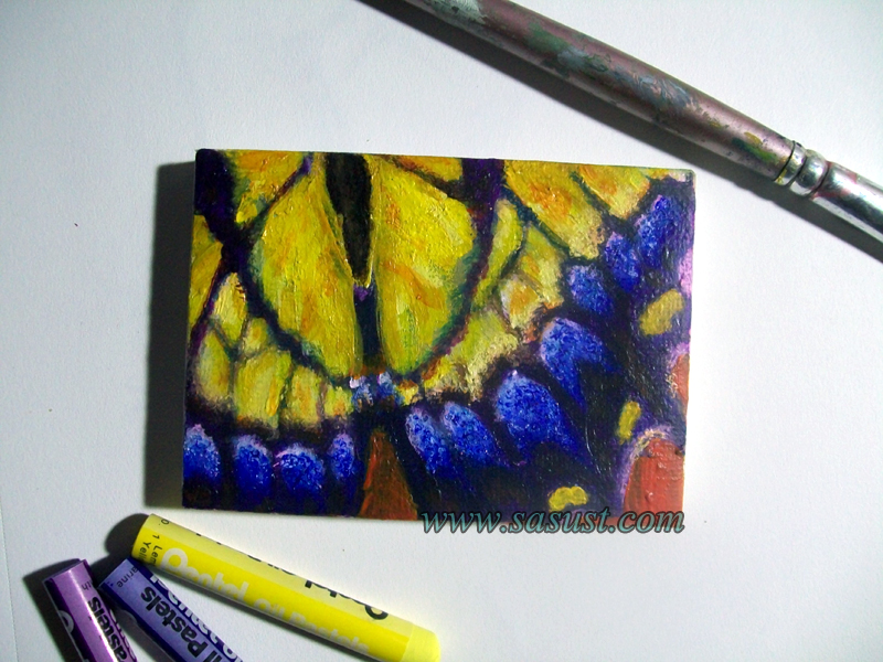 Tiger Swallowtail ACEO