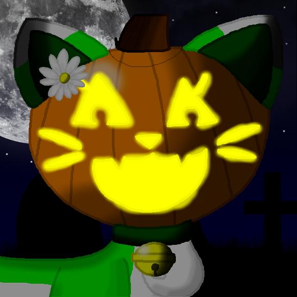 Halloween 2015 Icon - Jack o Lantern Emeraldia