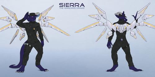 Sierra. the Gingoris Drake (SFW ref for Sierra104)