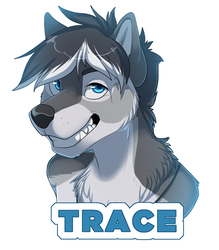 Trace Con Badge by AyCee