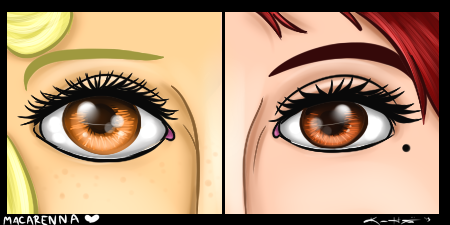 Macarenna Eyecons