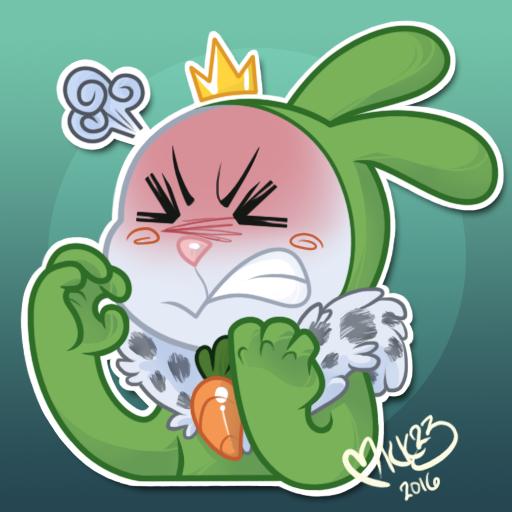 Telegram Sticker - King Cabbage