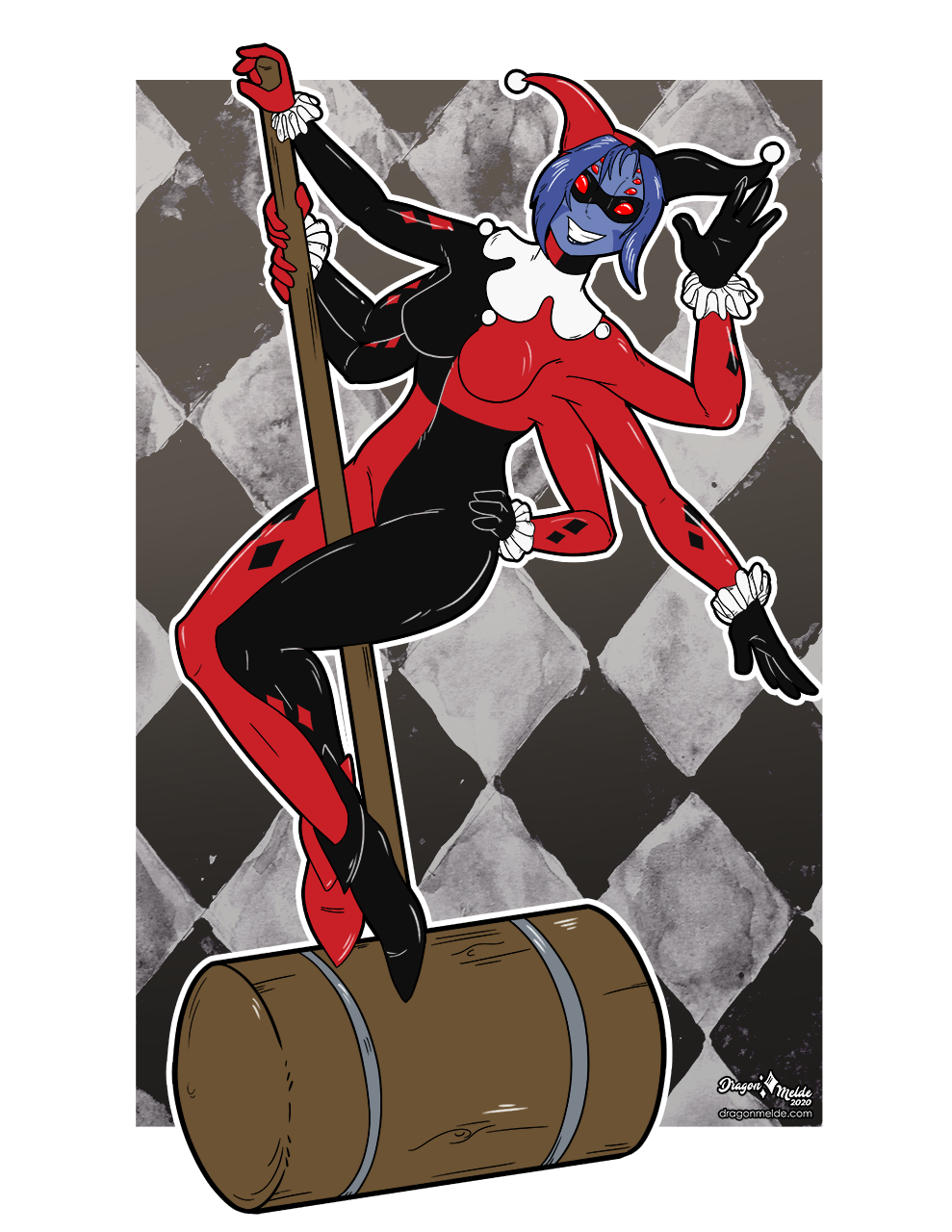 Convention Bingo Wing-its: Harley Quinn