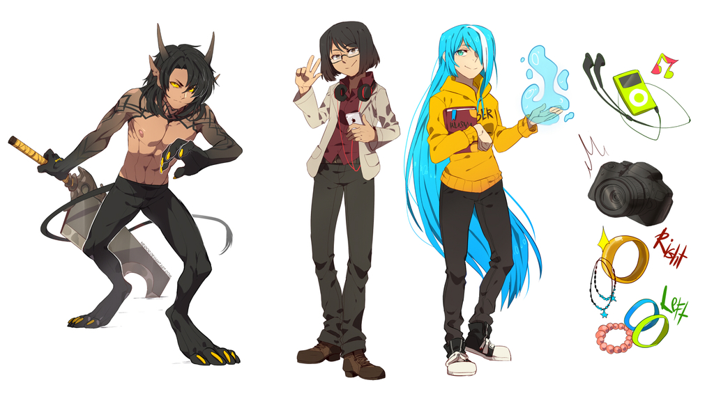 Fullbody Commissions Bunch 02