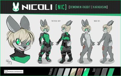 Nicoli character sheet
