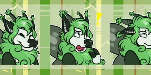 [commission] Telegram Stickers: Sugarwings