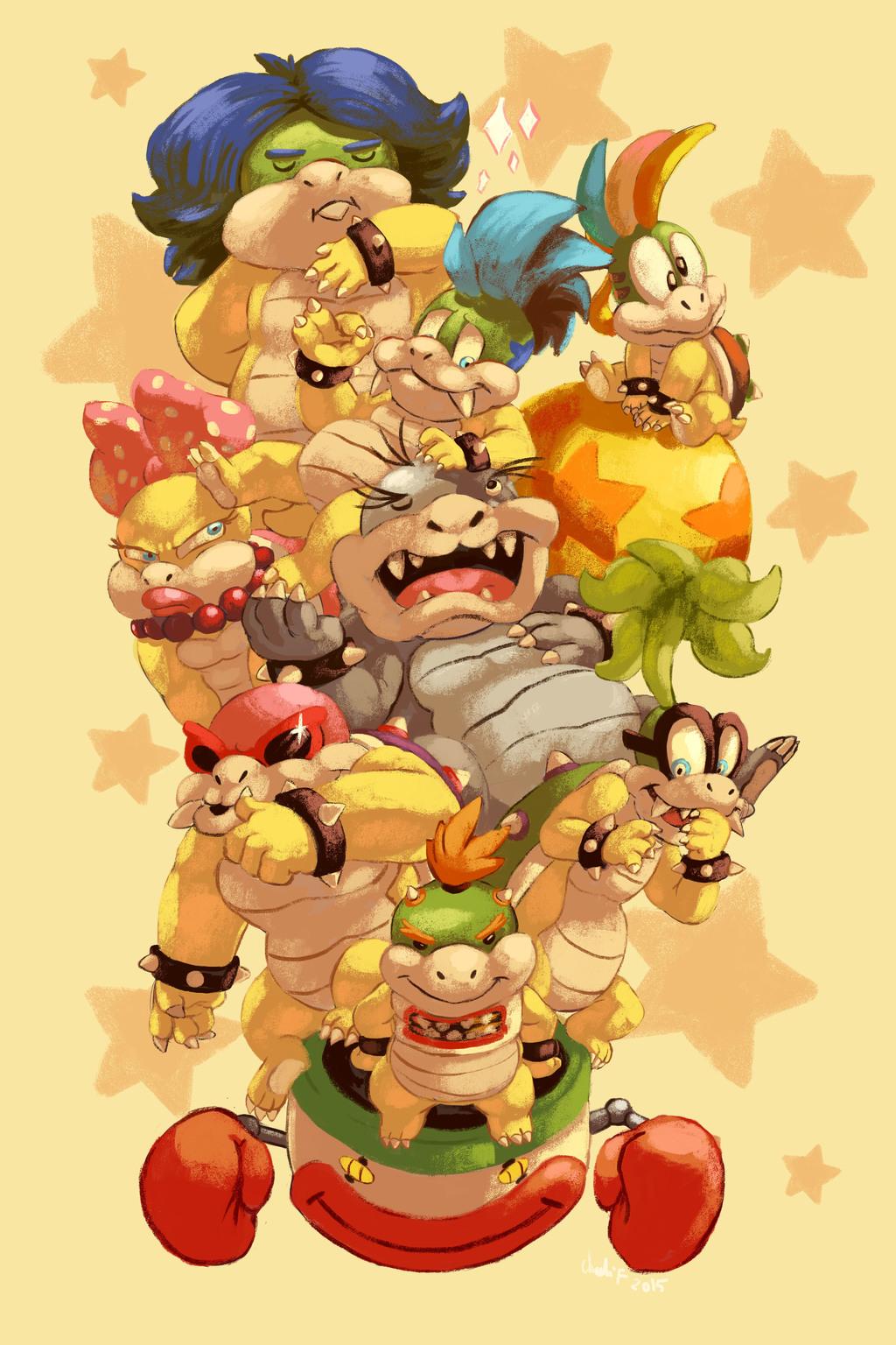 The Koopa Kids