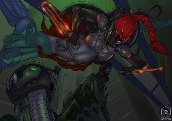 Scarlett Attack - BD Gift from DragonNetStorm