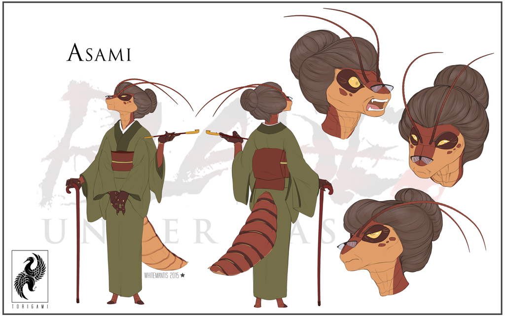 Blade Under Mask: Asami