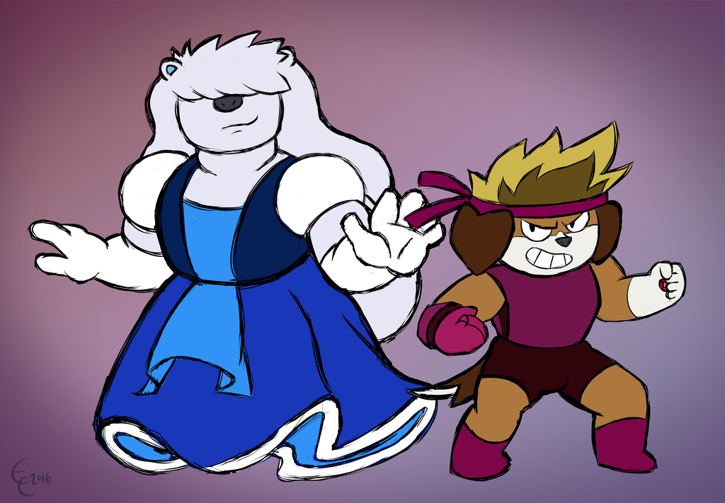 Ethan Ruby and Mark Sapphire